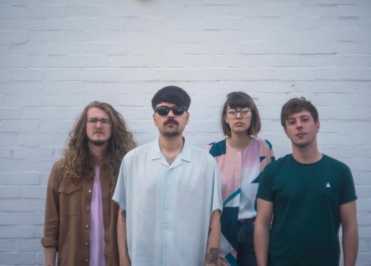 Photo of Orchards featured on Hidden Herd new music blog