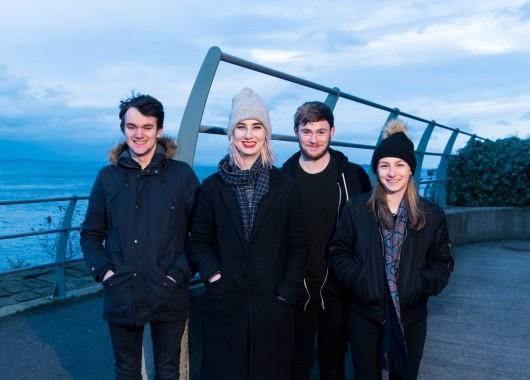 Photo of SKJØR featured on Hidden Herd new music blog