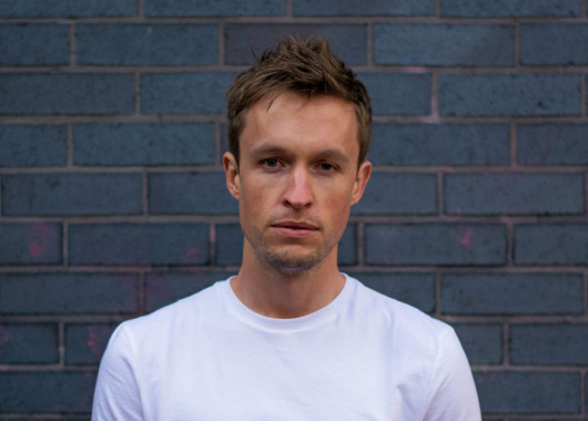 Photo of Blake Bastion featured on Hidden Herd new music blog