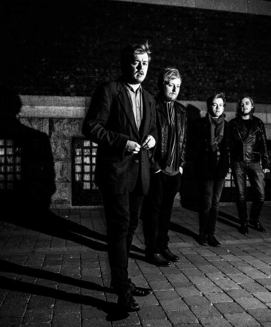 Photo of Brass Phantoms featured on Hidden Herd new music blog
