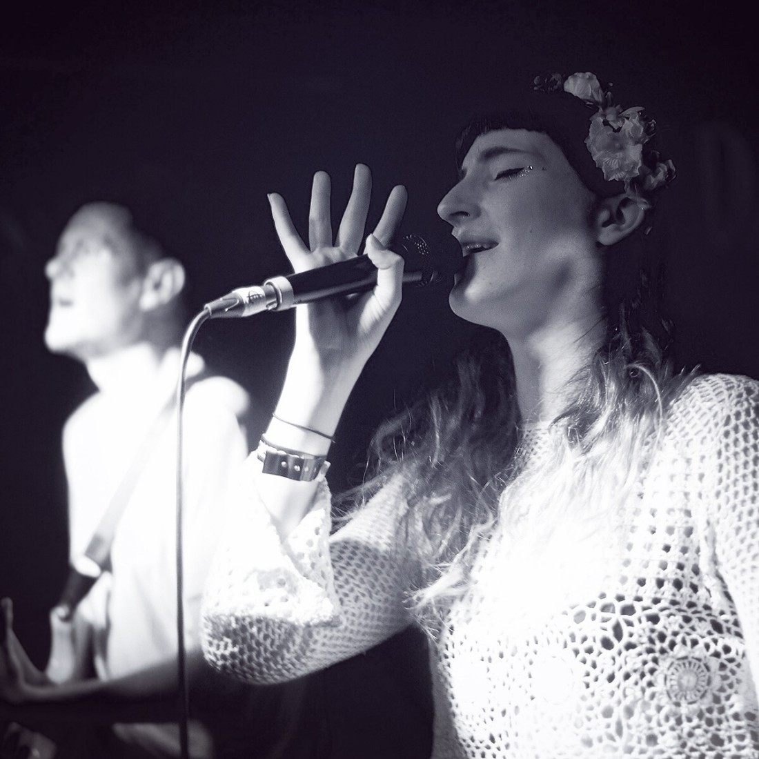 Photo of FOURS featured on Hidden Herd new music blog
