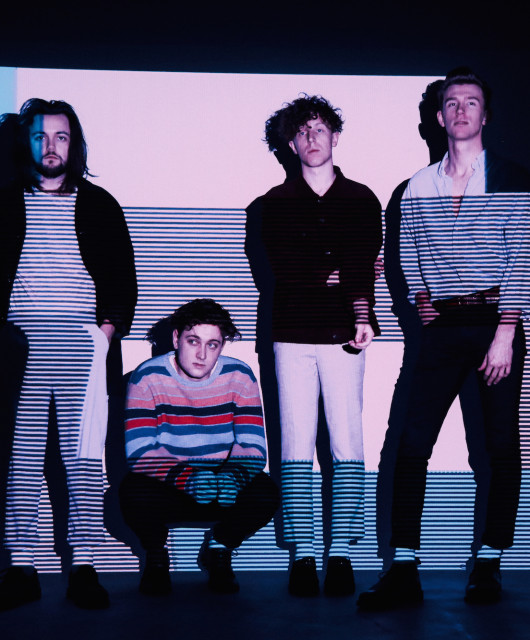 Photo of Marsicans featured on Hidden Herd new music blog