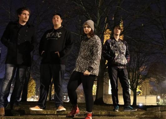 Photo of Dactylion featured on Hidden Herd new music blog