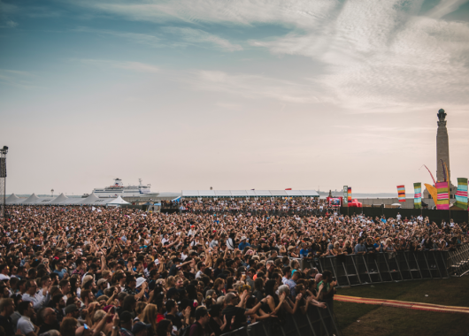 Victorious Festival in Southsea on 25.08.17