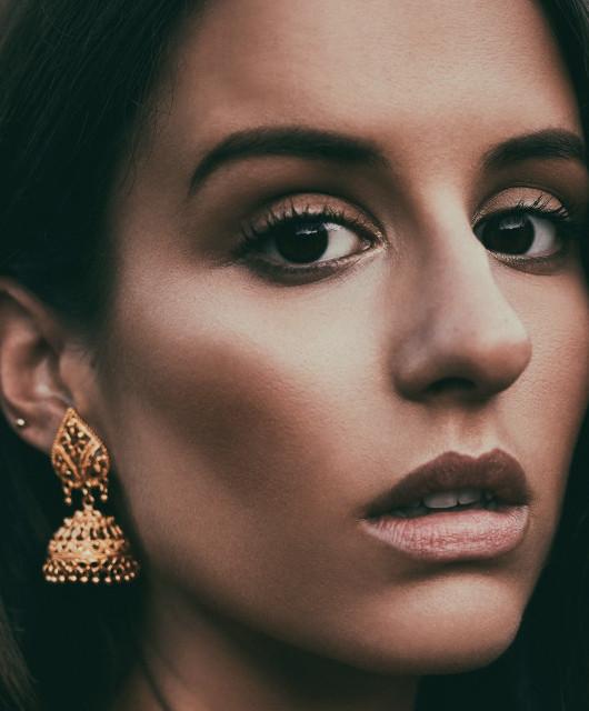 Photo of Adria featured on Hidden Herd new music blog